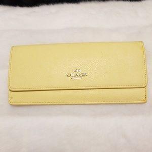 Yellow Coach wallet